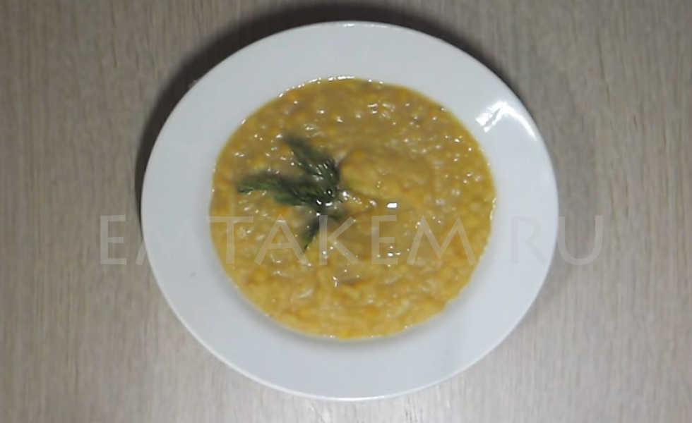Рецепт гороховой каши