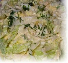 Салат с утиным мясом