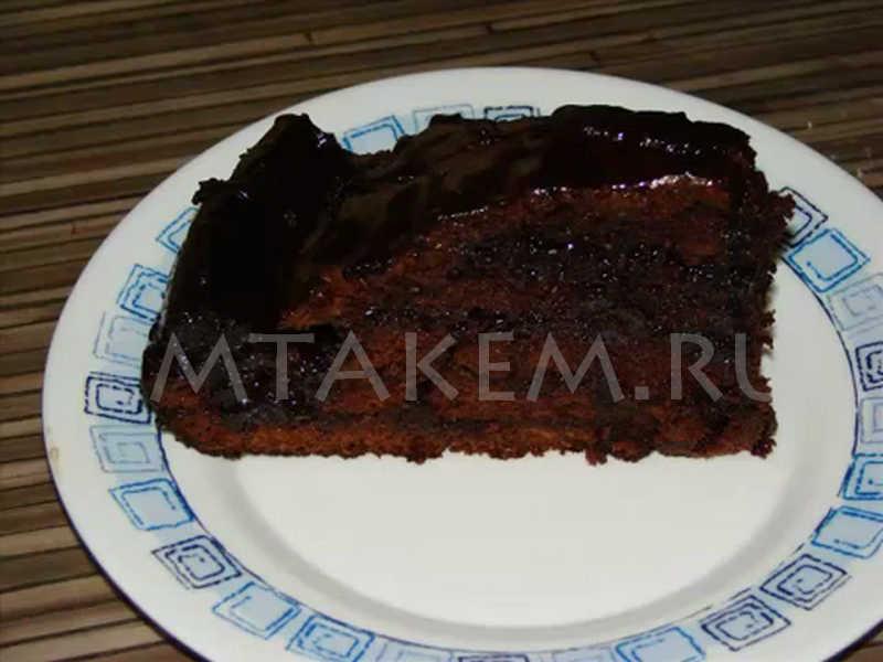 Торт поцелуй негра рецепт с фото пошагово