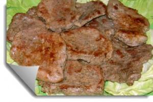 Бифштексы с ромом