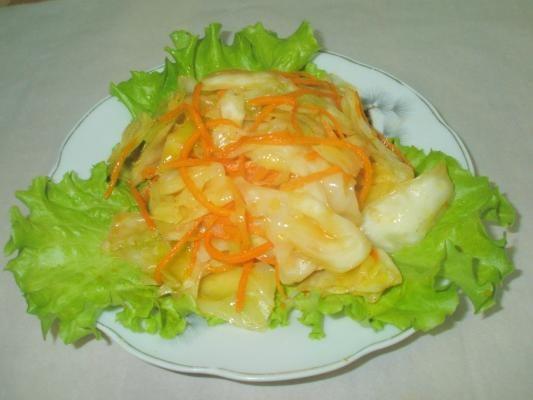 Рецепт приготовления капусты по-корейски
