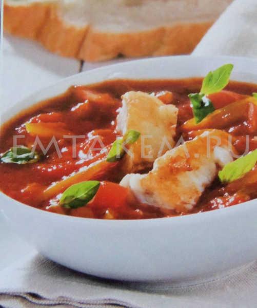 Вкусный суп по-андалузски