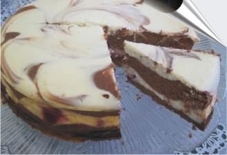 Рецепт шоколадно-сырного торта