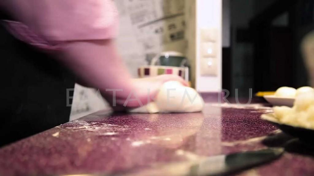 Курник пирог с курицей и грибами