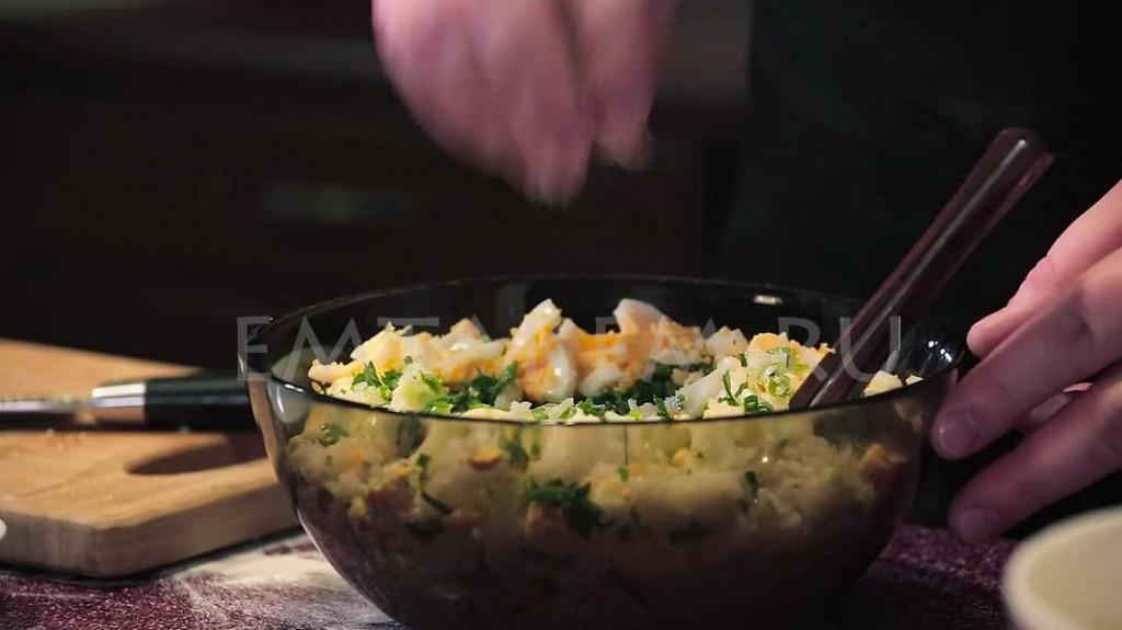Курник с блинами пошаговый рецепт с фото