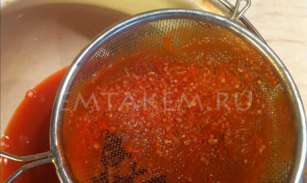 Приготовление томатной пасты