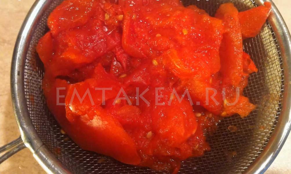 Рецепт томатной пасты помидорка в домашних условиях на зиму 189