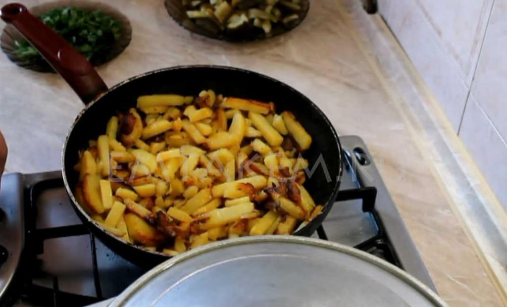 Азу по татарски с картошкой