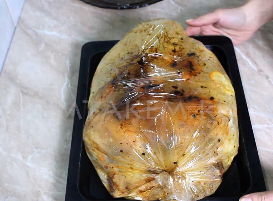 Картошка и курица в духовке