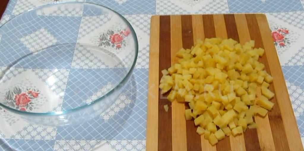 Ингредиенты для оливье