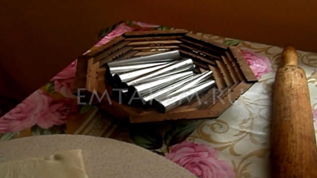 Трубочки металлические для выпечки