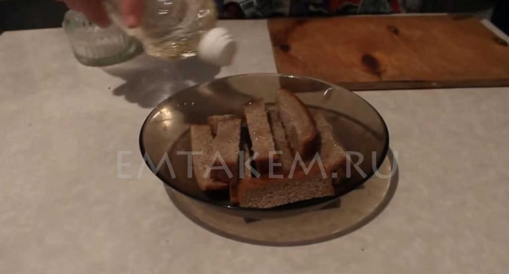 Как сделать гренки