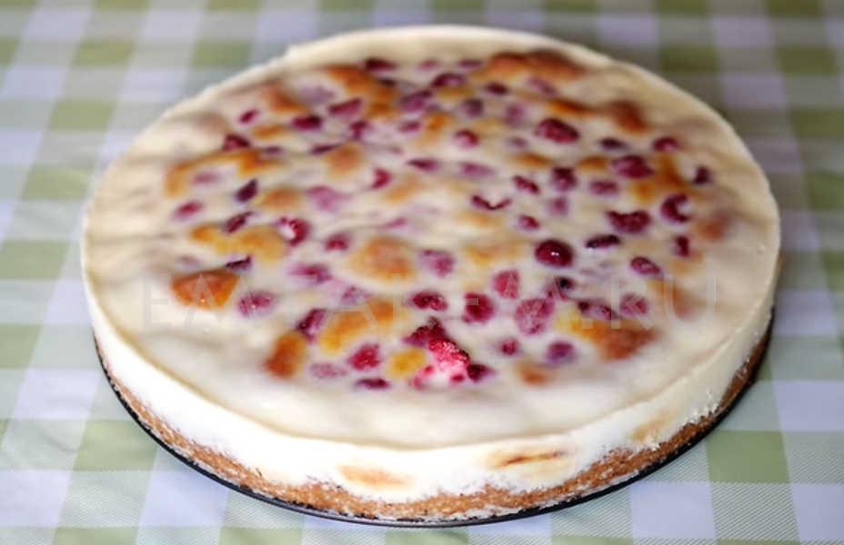 Малиновый пирог рецепт с фото